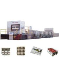 China 28kw Automatic Paper Egg Machine , 30t Egg Tray Manufacturing Machine on sale