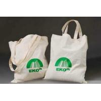 Quality Logo Printed Cotton Carrier Bags for sale