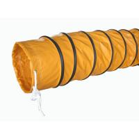 Quality Round PVC waterproof Ventilation tube / air duct Oil and Acid Resistant for sale