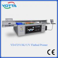 Quality UV digital flatbed led printer for glass,ceramic,wood,plastic,leather,PVC for sale