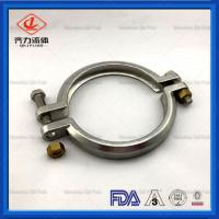 China Heavy Duty Sanitary Clamp Fittings DN40-DN300 For Hose Pipe Easy To Assemble on sale