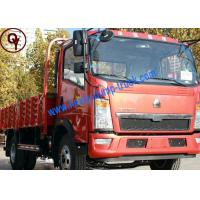 China 6 Wheeler Diesel Light Duty Trucks Yellow Red White Color Optional on sale