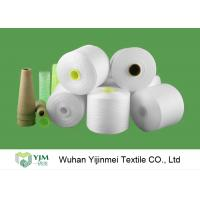 Quality Eco Z Twist High Tenacity Raw White Low Elongation Polyester Yarn for Sewing Thread for sale