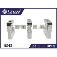 Quality Less Maintenance Electronic Turnstile Gates / RFID Barrier Gate Compact Design for sale