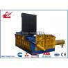 Non Ferrous Scrap Metal Compactor , 3Ton Per Hour Scrap Baling Press Machine for sale