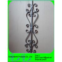 China wrought iron baluster, stair balusters, balustrade, fence on sale