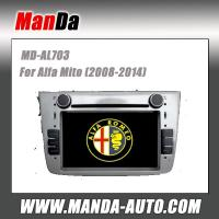 Quality Manda 2 din car dvd gps for Alfa Mito (2008-2014) factory navigation in-dash dvd auto stereo for sale