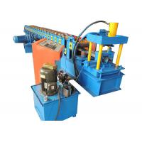 Quality Rust Proof Storage Rack Roll Forming Machine , Shelf Panel Roll Forming Machine for sale