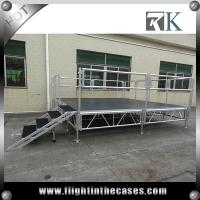 Quality 1x2m protable aluminum wedding stage wooden stage on sale outdoor concert stage sale for sale