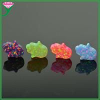 Quality 78 colors synthetic black opal hand stone price for sale