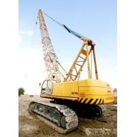 Quality Adjustable Knuckle Boom Length 80m Hydraulic Crawler Crane 28 ton QUY80 for sale