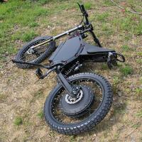 Quality 110 km/H Full Suspension Mountain Bike , 72V12000W Powerful Electric Bike for sale