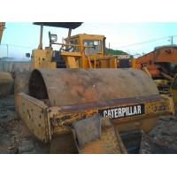 Quality Used caterpillar Compactor CS533C padfoot sheepfoot road roller for sale