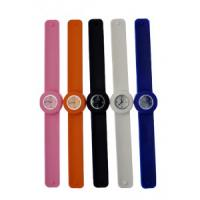Quality 2012 lovely butteryfly shape silicon slap watches ET1155G for sale
