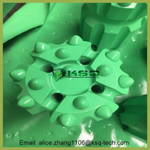 Buy cheap T38 Thread Ballistic / Spherical Retrac Button Green Bit Mining Drill Bits from Wholesalers