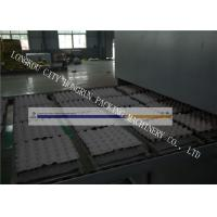 Quality High Output Egg Tray Machinery , Egg Crate Making Machine PLC Control for sale