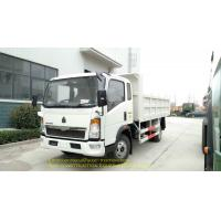 China High Reliability Right Hand Drive Truck HOWO Sinotruk 4X2 Light Dump Truck on sale