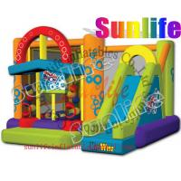 Quality hot sell inflatable jumper slide combo com064 for sale