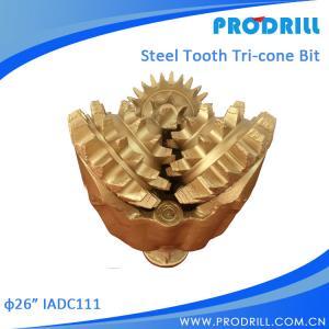 China API Three Cone Drill Bit/Router Bit/Tricone Bit For Oil Field Equipment on sale