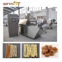 Quality SS Single Screw Food Extruder , Automatic Pet Food Processing Machinery for sale