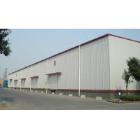 Quality Q345B Structural Steel Warehouse For Logistic With Alu. Window And Rolling Door for sale