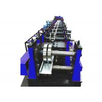Quality Galvanized Steel Trunking Cable Tray Forming Machine Width Adjustable With Punch for sale