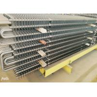 China Ss Boiler Fin Tube Spiral , Fin And Tube Heat Exchanger Energy Saving on sale