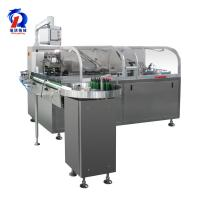 Quality 220/380V Box Packing Machine , Automatic Carton Machine Connect With Blister Machine for sale