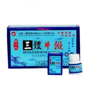 Buy cheap Health Herbal Male Sexual Enhancement Supplements Powerful Santi Scalper Capsule from Wholesalers