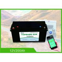 Quality 12V200Ah Lithium RV Camper Battery 150A Discharge With High Inrush Current Capability for sale