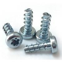 Quality High Accuracy Steel Zinc Flat Head Screw Mild Steel Material 4.8 Grade ISO 7046.1 for sale