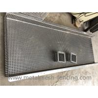 Quality Customized Square Hole Perforated Metal Plate Bending And Forming for sale