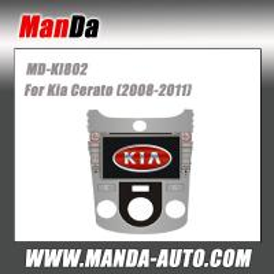Quality Manda car radio for Kia Cerato (2008-2012) Manual Air-Conditioner GPS radios auto dvd tv bluetooth for sale