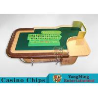 Quality Customed Professional British Luxury Casino Roulette Table 2600 * 1470 * 800mm for sale