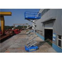 Quality AC Driven System Hydraulic Scissor Lift For Aerial Maintain Low Noise No Emission for sale
