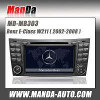 Quality 2 Din Touch Screen Car Dvd Radio Player for Mercedes BENZ E-W211 CLS W219 CLK W209 for sale