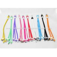 Quality Universal Noodles Shaped 3 in 1 USB Charging Cable For Smart Phone 10 Colors for sale