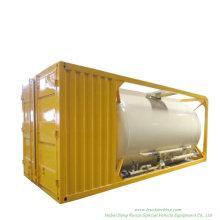 Bulk Cement ISO Tank Container 20FT Customize with Air Pump Transportation of Bulk Cement/Flour/Coal/Plaster etc. Powder