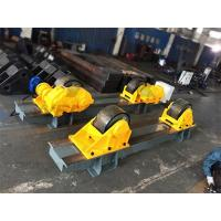Quality 120 Ton Tank Turning Roller Bed for Offshore Construction 6m Diameter Double Driver for sale