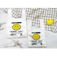 China Compostable Plastic Merchandise Bags  Custom Plastic Grocery Bags 11 Micron - 200 Micron on sale