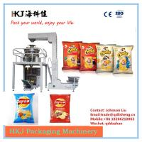 Buy 14 Heads Potato Chips Packing Machine , Vertical Packaging Machine Fast Speed at wholesale prices
