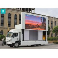 Quality Light Weight Truck Mounted LED Display , High Level Anti - Shake Mobile Led Screens for sale