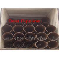Quality API 5L X52 X70 Spiral Welded Steel Pipe Double Submerged Arc Welding  for sale
