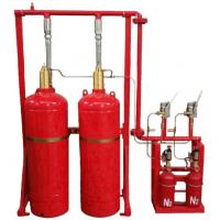 Red Cylinder FM200 Gas Fire Suppression System Easy And Convenient Installation