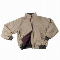 Quality Men's Jacket, Made of Nylon Taslon, with Metal Zipper for sale