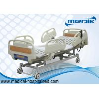 Quality 3 Function Folding Semi Fowler Medical Bed , Ward / ICU Bed For Patient for sale