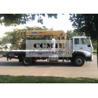 Quality Telescopic Truck Mounted Crane Good Toughness With Platform Xcmg Sq8sk3q for sale