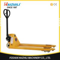 Quality 2.5 ton 685mm fork width hand hydraulic pallet truck trolley made in China for sale