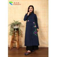 Chinese Traditional Embroidery Cotton Winter Clothing Embroidered Winter Coats