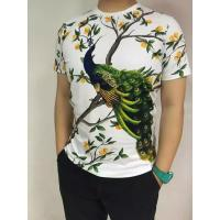 Buy cheap Customized Digital Print Cotton Spandex Jersey T Shirts / Sports Clothing from Wholesalers